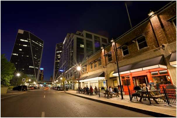 downtown Regina Scarth Street