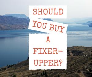 Buying a Fixer-Upper